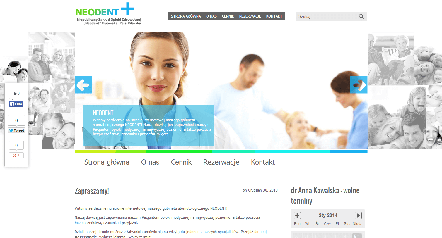 2014-01 Dentist website