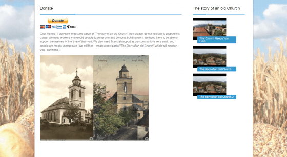 2014-07 Homepage for the Church – kzbg.pl
