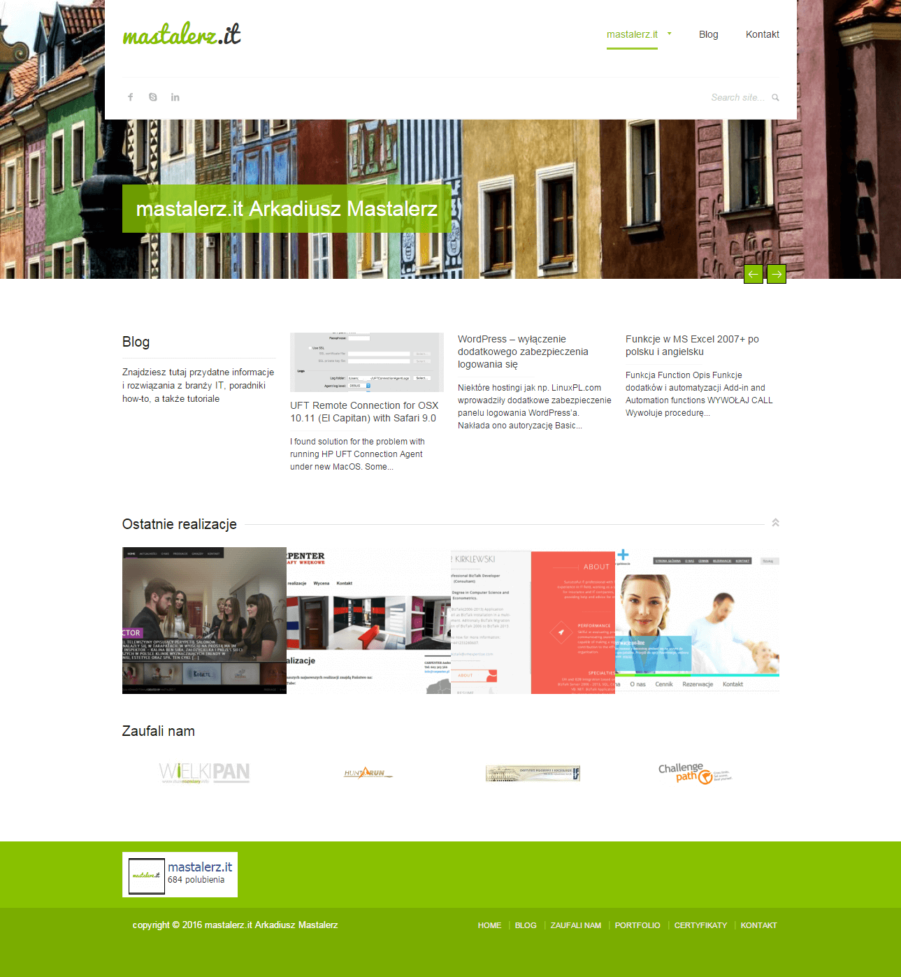 2015-01 My homepage – mastalerz.it