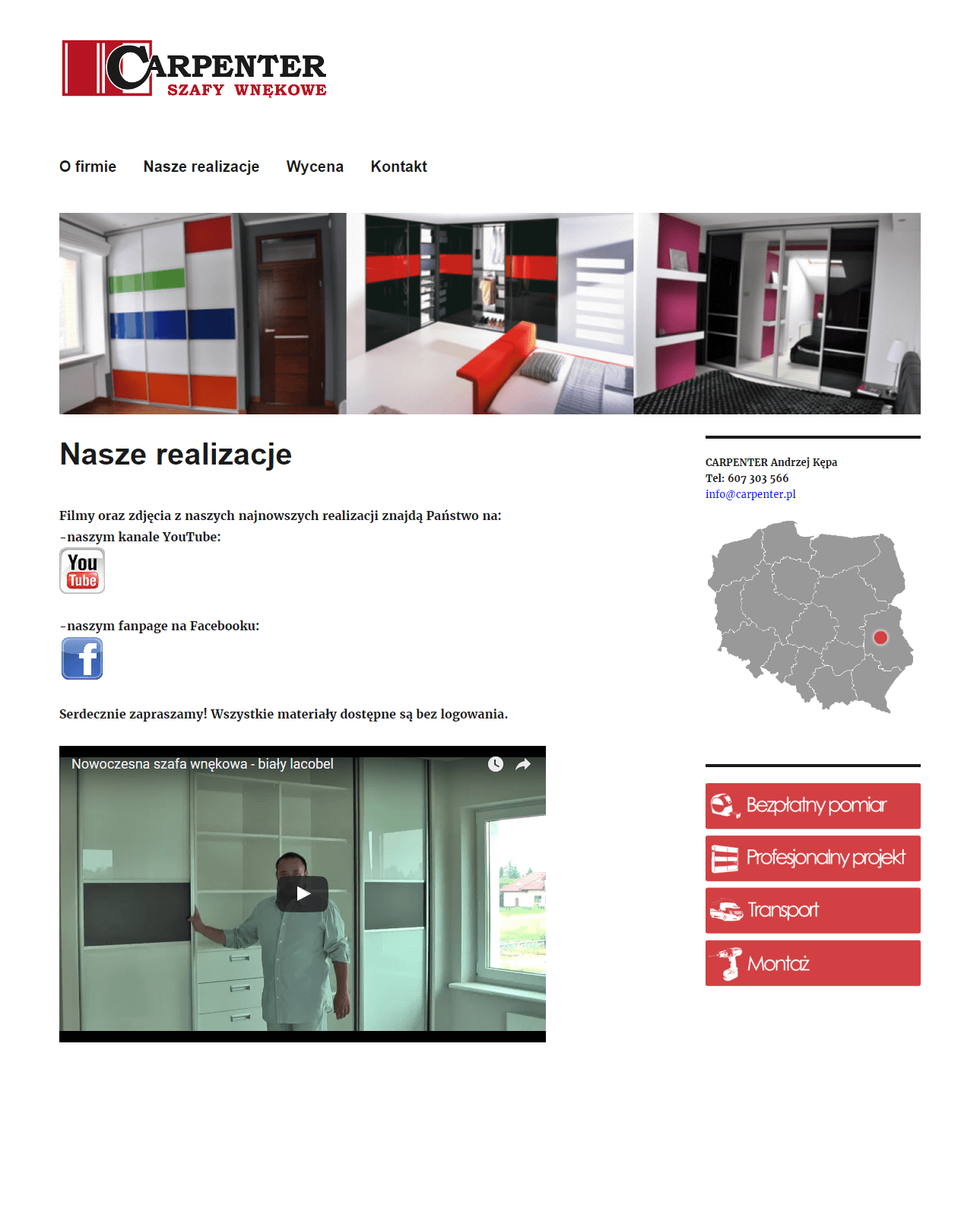 2015-10 Business Identity migration to WordPress – carpenter.pl