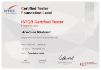ISTQB Certified Tester Foundation Level