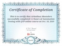 Automation testing with QTP